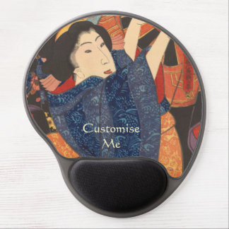 Japanese Beauty airs colourful garments Gel Mouse Pad