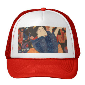 Japanese Beauty airs colourful garments Trucker Hat
