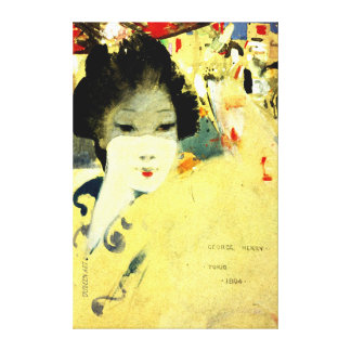 Japanese Beauty - George Henry Canvas Print