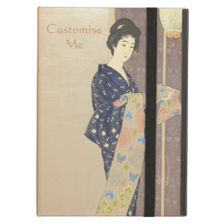 Japanese Beauty in Summer Kimono Cover For iPad Air