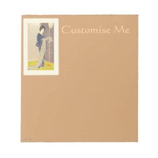 Japanese Beauty in Summer Kimono Notepads