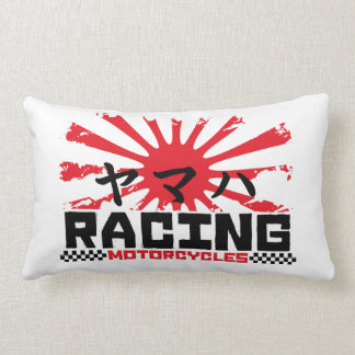 Japanese bikes addict lumbar pillow