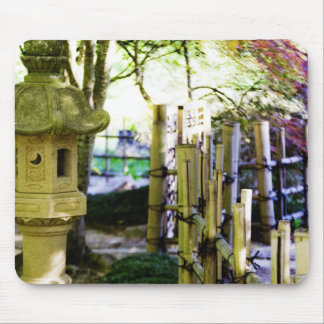 Japanese Birdhouse Mouse Pads