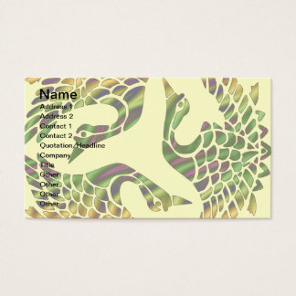 JAPANESE BIRDS DESIGN Business Cards