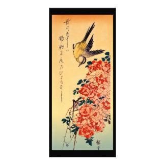 Japanese Birds Rack Cards Bookmarks
