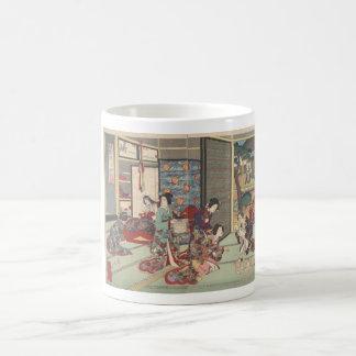 Japanese birth ceremony - mug