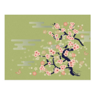 JAPANESE Blossom Post Cards