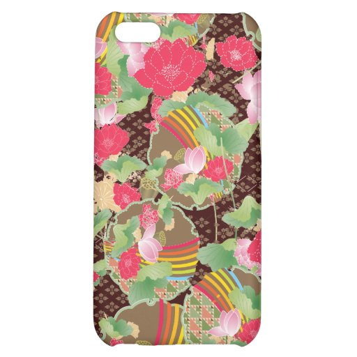 Japanese Blossoms 4 Custom  iPhone 5C Cases