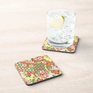 Japanese Blossoms No.8 Beverage Coasters