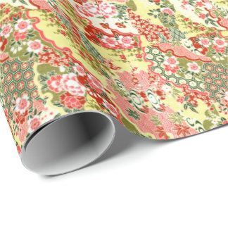 Japanese Blossoms No.8 Wrapping Paper