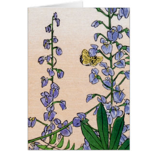 Japanese Bluebells no.3 Card