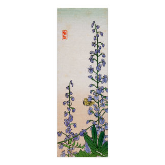 Japanese Bluebells no.3 Poster