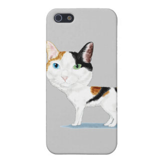 Japanese Bobtail Caricature iPhone 5 Cases