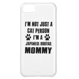 Japanese Bobtail shirts Cat Design Case For iPhone 5C