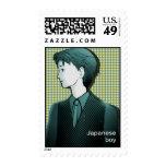 japanese boy_01b stamp