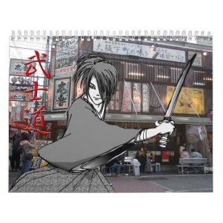 Japanese boy MANGA Calendar