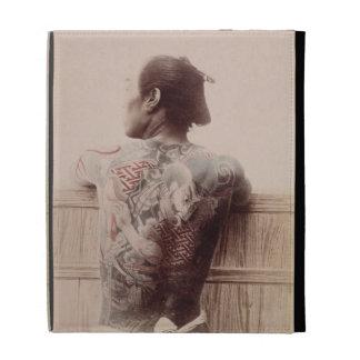 Japanese Bridegroom's Tattoos, c.1880 (photo) iPad Cases