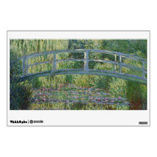 Japanese Bridge and Water Lilies by Claude Monet Wall Decal