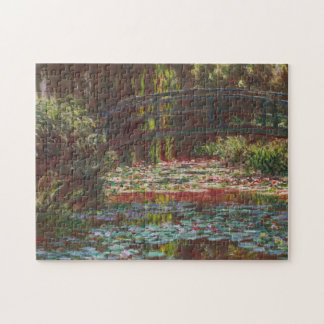 Japanese Bridge and Water Lilies ~ Claude Monet Jigsaw Puzzle