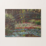 Japanese Bridge and Water Lilies ~ Claude Monet Jigsaw Puzzles
