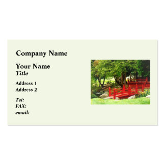 Japanese Bridge Double-Sided Standard Business Cards (Pack Of 100)