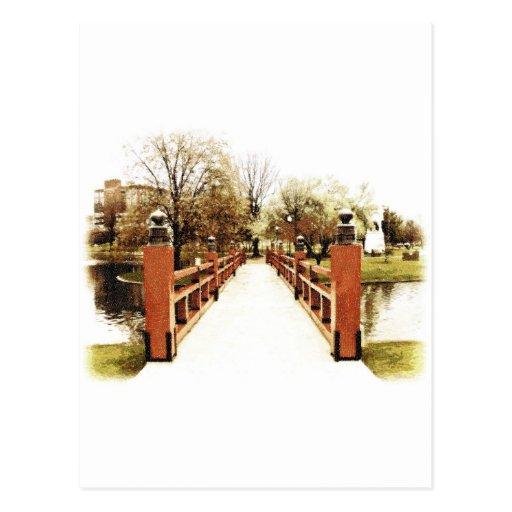 Japanese Bridge of Huntsville, Alabama Postcard