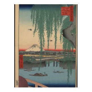 Japanese Bridge Postcard