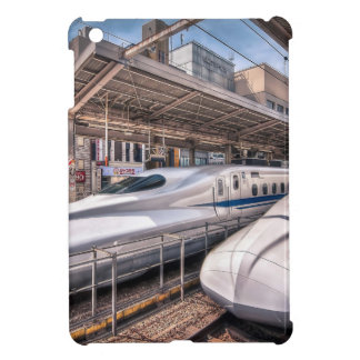 Japanese Bullet Trains at Tokyo Station iPad Mini Case