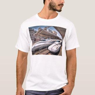 Japanese Bullet Trains at Tokyo Station T-Shirt