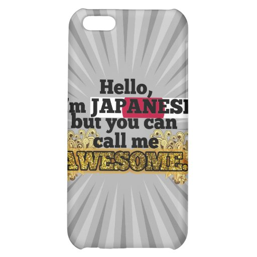 Japanese, but call me Awesome Cover For iPhone 5C