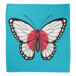 Japanese Butterfly Flag Bandana