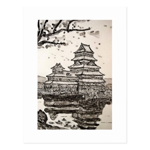 Japanese Castle Postcard