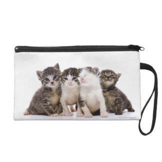 Japanese cat wristlet clutches