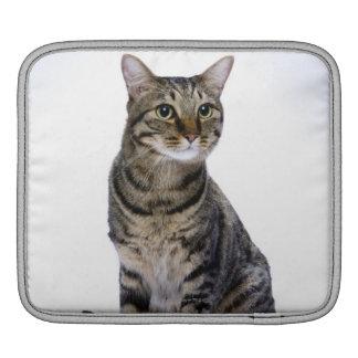 Japanese cat on white background iPad sleeves