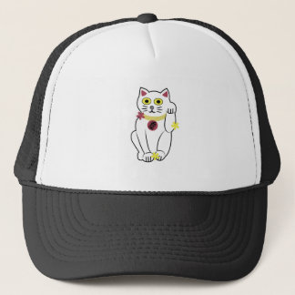 Japanese Cat Trucker Hat