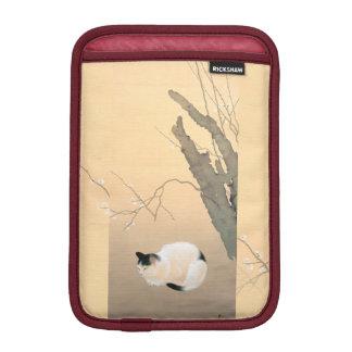 Japanese Cat Under Plum Blossoms c.1906 iPad Mini Sleeve
