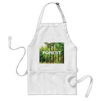 Japanese Cedar woods Adult Apron