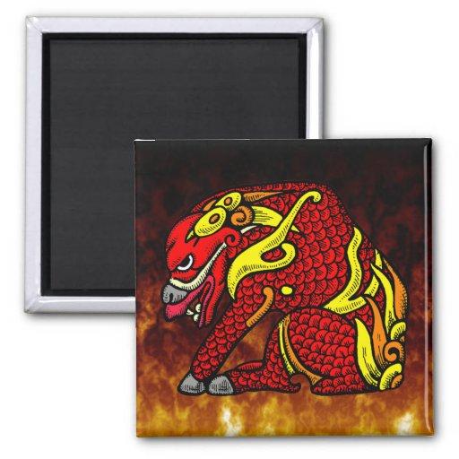 Japanese Celestial Stag Magnet