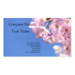 Japanese Cherry Blissom Double-Sided Standard Business Cards (Pack Of 100)