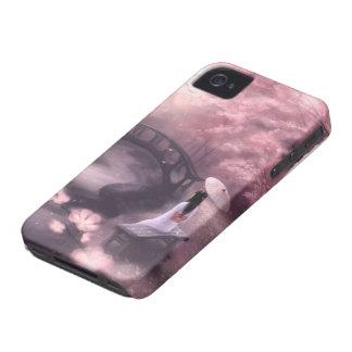 Japanese Cherry Blossom iPhone 4 Case