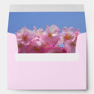 Japanese Cherry Blossom envelope