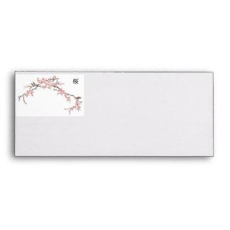Japanese Cherry Blossom Envelopes