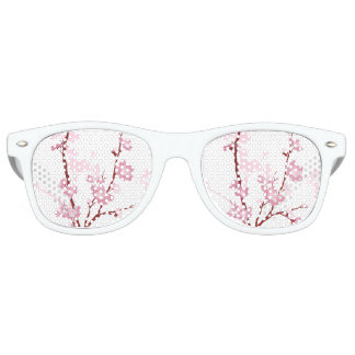 Japanese cherry blossom, gentle pink flower,girly, wayfarer sunglasses
