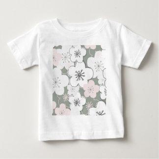 Japanese cherry blossom modern pattern baby T-Shirt