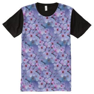 Japanese Cherry Blossom Pattern All-Over-Print Shirt
