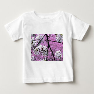 Japanese Cherry Blossoms Baby T-Shirt
