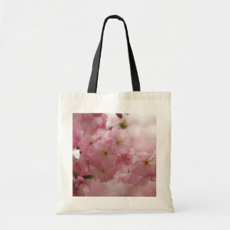 japanese cherry blossoms budget tote bag