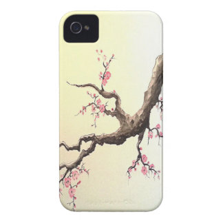 Japanese Cherry Blossoms iPhone 4 Case-Mate Case