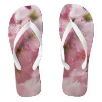 japanese cherry blossoms flip flops