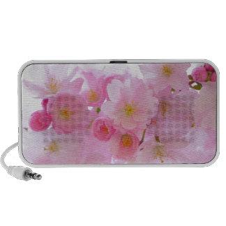 Japanese Cherry Blossoms Flowers Pink Nature Art Speaker